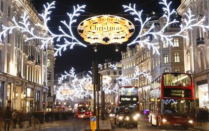 3 Dagen Kerst In Londen Actievandedag