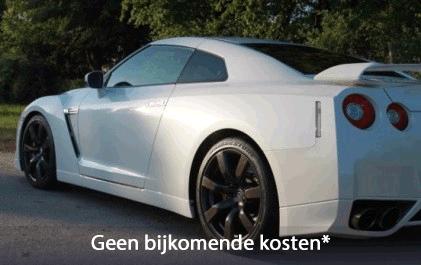 Maak een rit in een Nissan GT-R