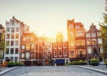 Rembrandt Square Amsterdam.