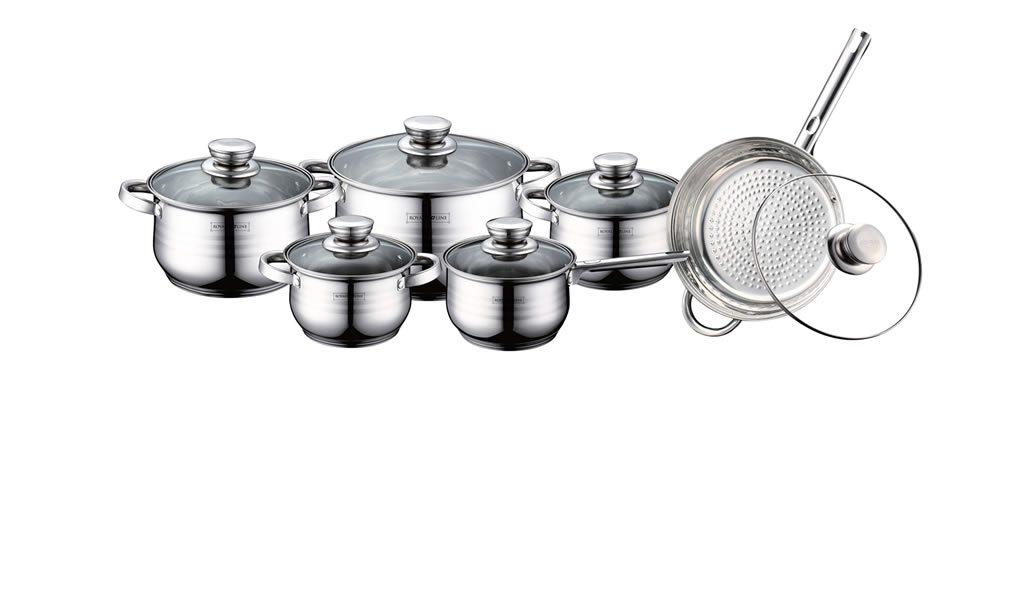 Dagaanbieding - 12-delige luxe pannenset dagelijkse koopjes