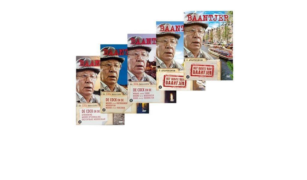 Korting Baantjer DVD pakket XXL