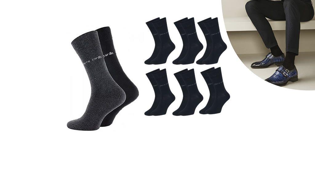 6 paar Pierre Cardin sokken