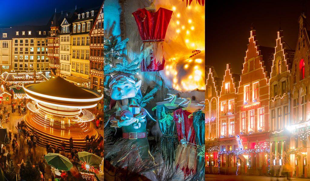 Kerstshoppen in NL, BE of DUI