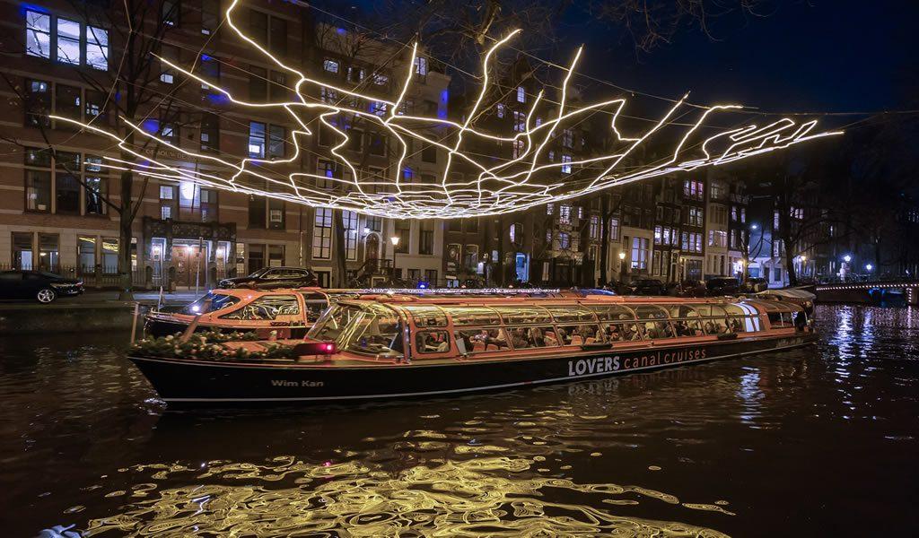 Rondvaart Amsterdam Light Festival