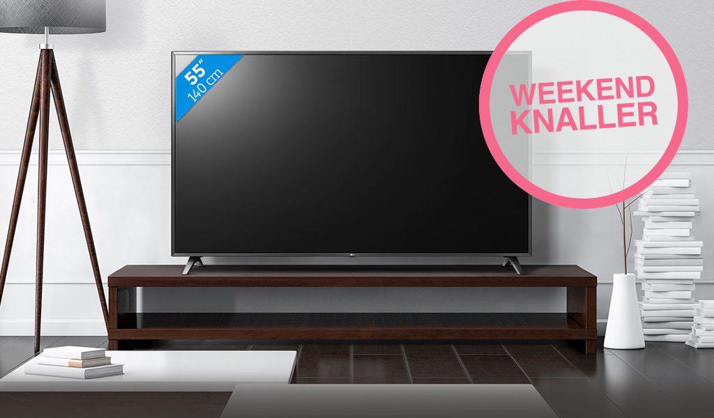 LG Ultra HD Smart TV - 55inch