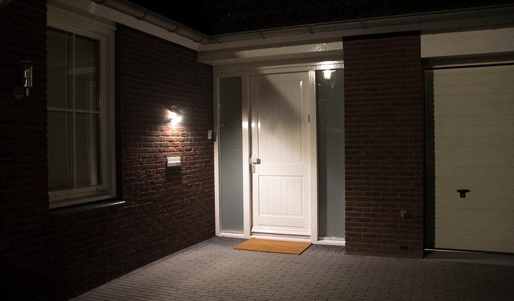 LED Solar Wandlamp
