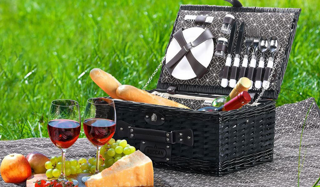 Korting Luxe picknickmand