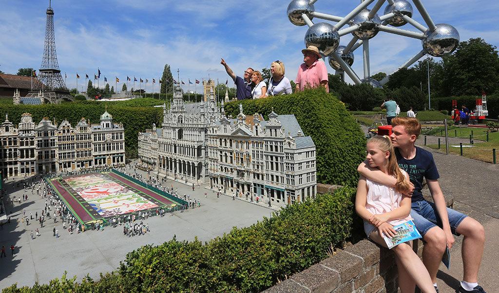 Korting Bezoek Mini Europe in Brussel