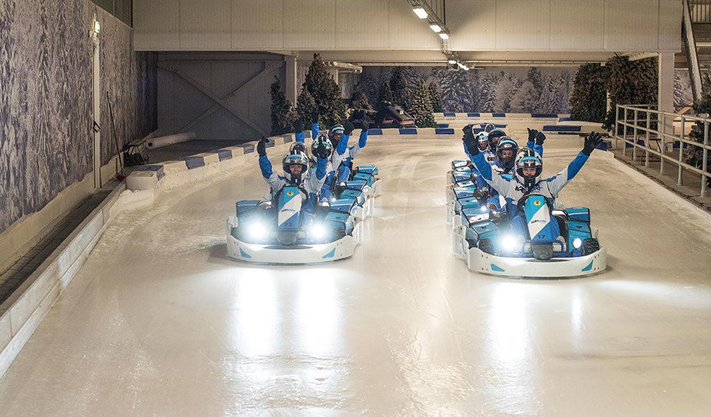 IJskarten bij IceKart Rucphen