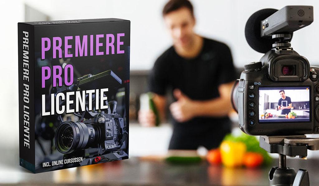 Korting Licentie Adobe Premiere Pro