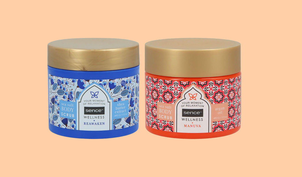 12 stuks Sence of Wellness body scrub