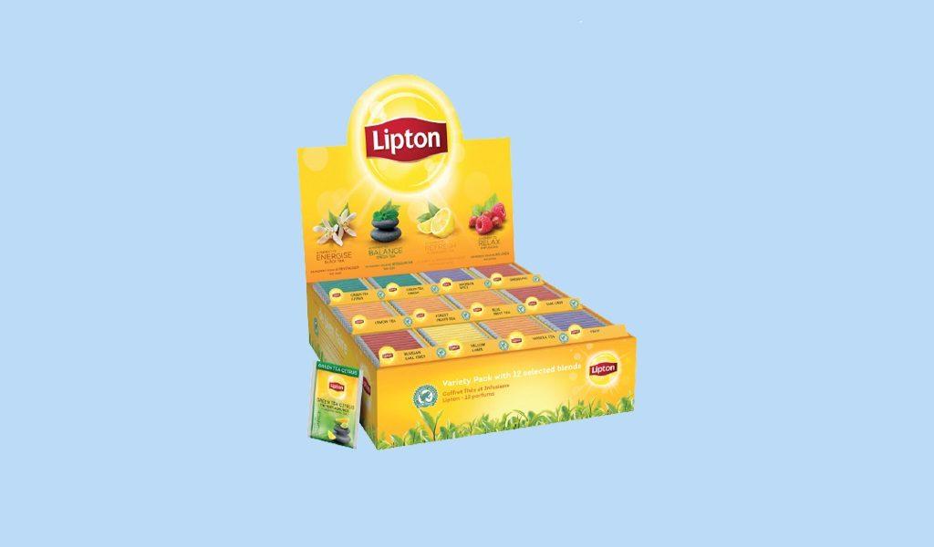 Korting Lipton theezakjes 180 stuks