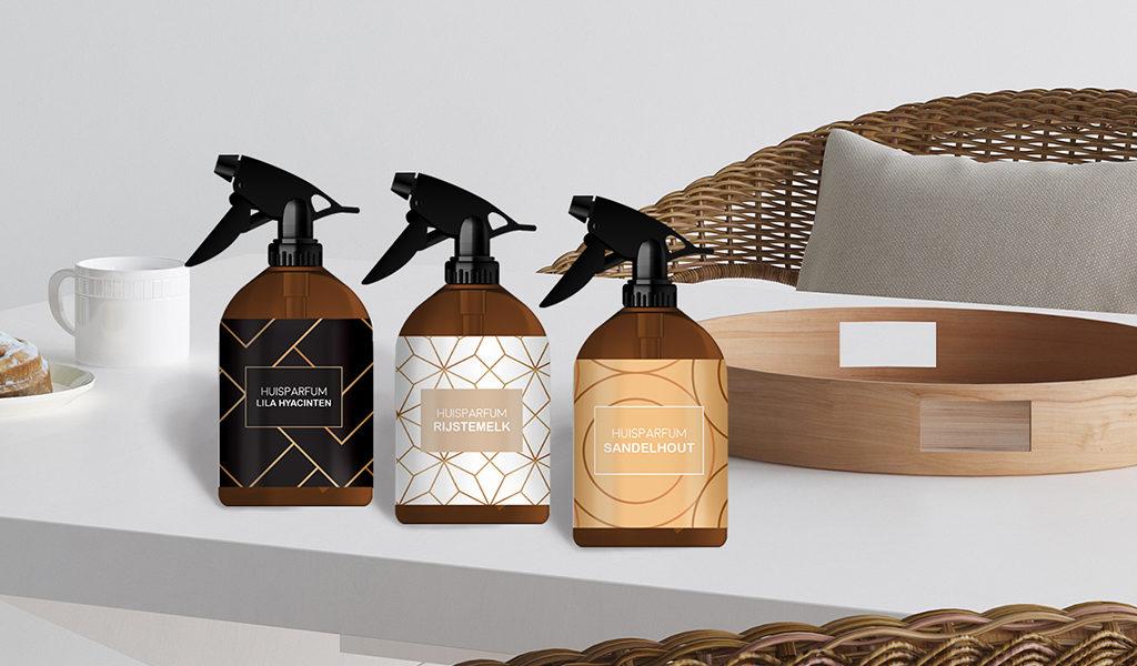 Set van 3 huisparfums