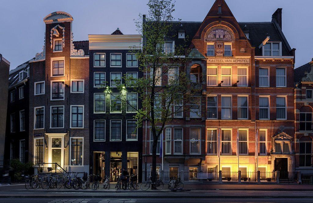 Luxe hotel in hartje Amsterdam