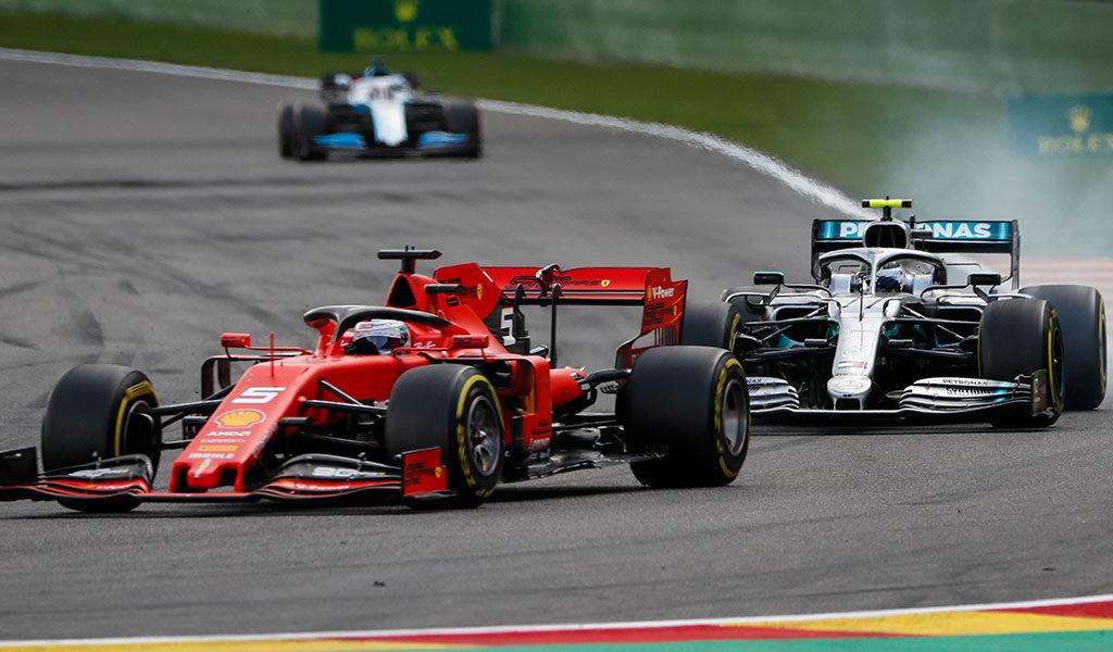 Korting 2 zitplaatsen vrije training Formule 1 GP België 2021