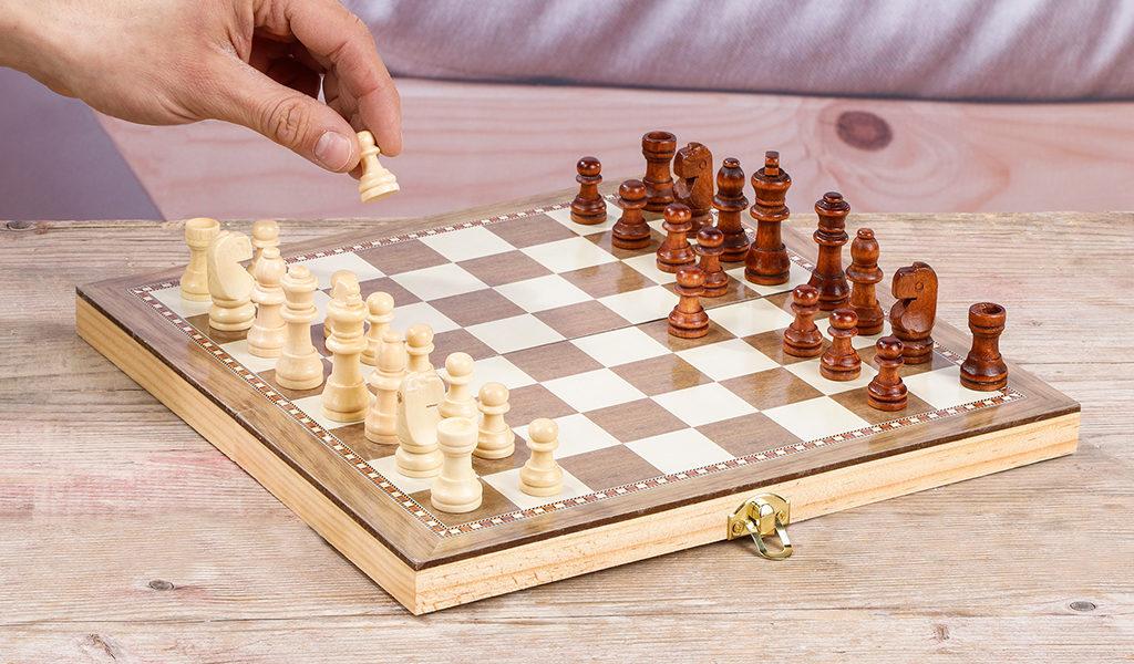 3-in-1 schaakbordspel