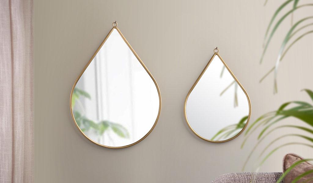 Korting Set van 2 spiegels