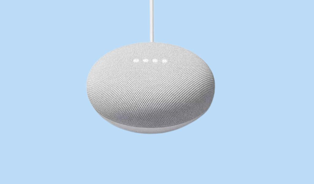 Korting Google Nest mini speaker